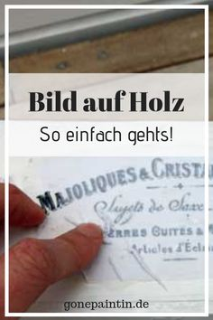 Bild auf Holz übertragen How to transfer a picture to a wooden background? It is so easy! Bed Cover Design, New Kitchen Doors, Wooden Background, Diy And Crafts, Shabby Chic, About Me Blog, Diy Projects, Mandala, Easy