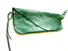#green #leather #clutch #ulantia #wristlet GREEN leather clutch evening bag clutch leather clutch by ulantia, $65.00