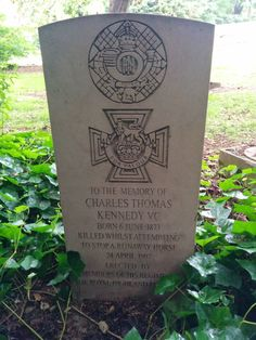 Grave of Victoria Cross winner in Edinburgh (Source) #cemetery #quote #quotation #aphorism #quoteallthethings