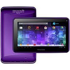 Visual Land Prestige Pro ME-7D-16GB-PUR Wi-Fi Tablet PC - Cortex-A9 1.6 GHz Dual-Core Processor - 1 GB DDR3 RAM - 16 GB Storage - 7.0-inch Display - Android 4.1 Jelly Bean - Purple