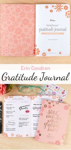 Develop an attitude of gratitude and pay it forward with this portable & stylish Gratitude Journal. Write down a motivational quote, thankful thought or memory from your day as a way to hold close what's most important. #gratitude #ad
