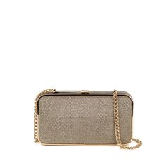 NARKISSA  Clutch en Diamond Oro