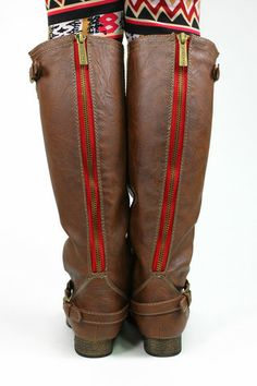 Riding Boots - Tan - $39.00