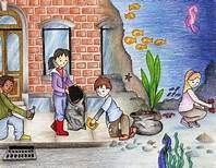 Person Cleaning River Art Saferbrowser Yahoo Image Search Results City Drawing Illustration Art Kids Drawings