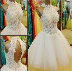 Puffy Short White Sweet 16 Homecoming Dresses Lace Corset Bodice Ball Gown Graduation Gowns 8 Grade Prom Party Wear Open Back Custom Made Online with $97.39/Piece on Nameilishawedding's Store   DHgate.com