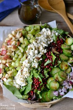 Fall Harvest Salad.