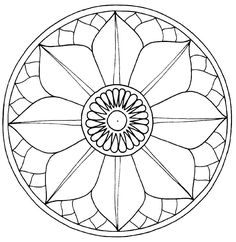 lotus mandala; this would be on my shoulder, and would start my sleeve.  I don't necessarily want THIS particular design, but it's a start.