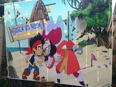 """Kaisen and the Neverland pirates """"KC vs Capt Hook"""" 