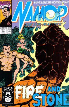 Namor, The Sub-Mariner # 17 by John Byrne