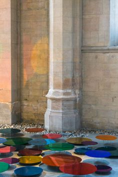 Artist transforms a former church into a colourful space by using hundreds of mirrors | Creative Boom