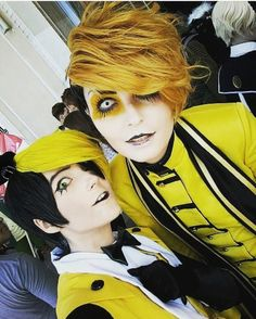 Cosplay Anime Costume Bill Cipher and Springtrap [fnaf gravity falls] Anime Cosplay, Epic Cosplay, Cosplay Makeup, Amazing Cosplay, Hetalia Cosplay, Fnaf Costume, Anime Costumes, Cool Costumes, Cosplay Costumes