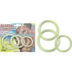 Novelties By Nasswalk Magnum Force Glow In The Dark Penis Rings by Novelties By Nasswalk. $9.55. Magnum Force - Glow In The Dark  The ultimate silicone cock ring trio set with small, medium and large will keep you up all night.
