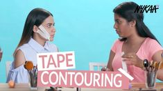 Contouring - the makeup trend made popular, most recently by the Kardashian/Jenner clan, has sparked a phenomenon of all kinds of wild makeup fads. Komal Pandey, Kardashian Jenner, Makeup Trends, Contour, Beauty, Contouring