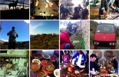 Tribewanted Monestevole, Italy launches - excited to see how the community grows, and of course the food that's produced!