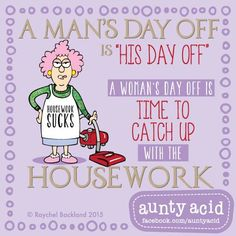 I'm going to clean as loudly as I can... #AuntyAcidsLoveShack