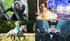 Best new fairy tales movies 2014-2015 including Maleficent, Into the woods, Cinderella, Beauty and the Beast - Swide