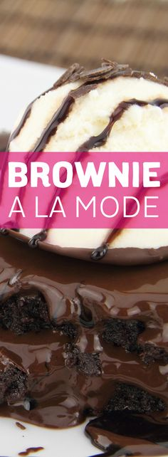 What could be better than a cold scoop of ice cream on an ooey-gooey brownie on a warm summer night? A Brownie a La Mode made with natural sweeteners only!