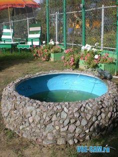 Water Features In The Garden, Water Garden, Fountain, Home And Garden,  Outdoor, Fire Pit Backyard, Home Decor, Diy Crafts, Ponds, Diy, Ideas,  Summer Time, ...