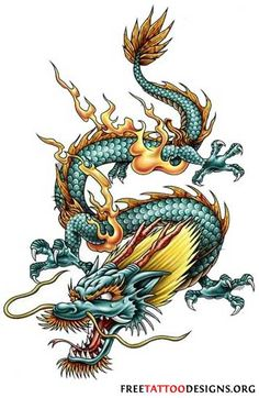 Awesome Chinese Dragon Tattoos