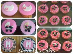 Cupcakes Animal Print!!...#ponquesitos #ponquesitosdecorados #fiestainfantil #cupcakes #animalprint #talentovenezolano