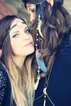 Bohemian Collective - headbands (boho props)