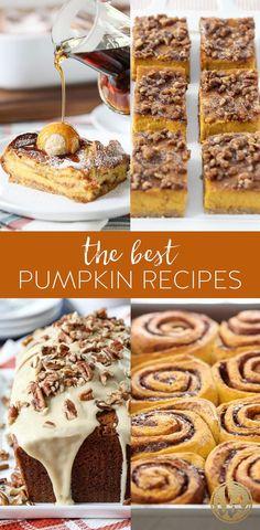 The Best Pumpkin Recipes #pumpkin #recipe #baking #fall #fallbaking #dessert #breakfast #bread Baked Pumpkin Oatmeal, Soft Pumpkin Cookies, Pumpkin Dessert, Frozen Pumpkin, Best Pumpkin, Baking Recipes, Dessert Recipes, Desserts, Pumpkin Mac And Cheese