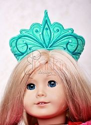 Adana Doll Crown - 5x7 | What's New | Machine Embroidery Designs | SWAKembroidery.com PunKin Design