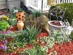 Garden-design-Ideas-small-area-decoration Love Garden, Summer Garden, Garden Art, Home And Garden, Amazing Gardens, Beautiful Gardens, Country Cottage Garden, Home Flowers, Small Garden Design