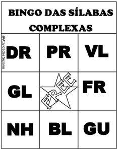Uma dica que deixo hoje para trabalhar as dificuldades com as sílabas complexas é o bingo, eu trabalhava sempre quan...