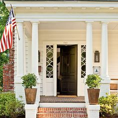 "Intent on preserving her home's architectural details and character, Ashley Gilbreath wanted to salvage and restore. ""I reused what I could and replicated anything new to be as close to the original as possible,"" she says. ""If I'd wanted a brand-new house, I would have bought one."" With extensive structural rebuilding, she brought back the beauty. {Featured in Southern Living Magazine}"