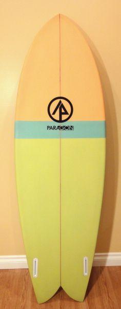 Paragon Surfboards Retro Fish