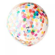 Meri Meri Giant Multicoloured Confetti Balloon Kit