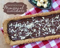 Crostata vegan di cioccolato