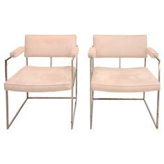 pair of Milo Baughman Chairs