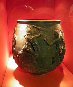 The Colchester Vase, Colchester Castle Museum, Camulodunum (Roman Colchester) | Flickr: Intercambio de fotos
