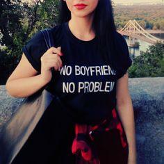 GEEN VRIENDJE GEEN PROBLEEM Brief Print Zomer 2017 Punk Zwart t-shirt vrouwen tops casual harajuku tee shirt femme tumblr Tshirt