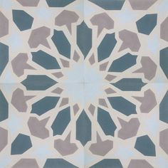 Fes pattern from our Moroccan Collection. #cementtileshop #cementtiles #cementtile #concretetile #cubantile #hydraulictile #encausticcementtile #encaustictile #moroccantile #moroccan #mexicantile