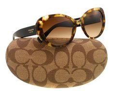 Coach Cat Eye Sunglasses HC 8049 Tortoise 5045/13 Alexa