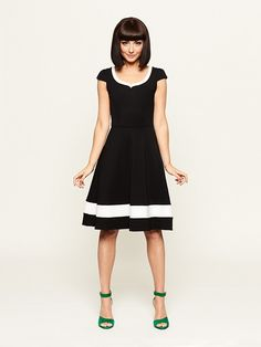 Review Australia | Arden Black and White Dress