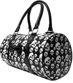 Purse - Runaway Skully by Sourpuss | Catfight Collections