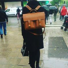 portfölj som ryggsäck