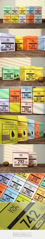 Single Estate Tea packaging design by Openmint (Russia) - http://www.packagingoftheworld.com/2016/06/single-estate.html