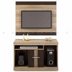 Modernidade e elegância são o que define o Rack C/ Painel San Diego, com cores modernas que inovará seu ambiente com muito estilo e bom gosto. Conta com 1 painel com espaço para TVs de até 42 polegadas, 1 rack com 1 porta, espaço para aparelhos eletrônicos e objetos de decoração, deixando seu lar em perfeita ordem.