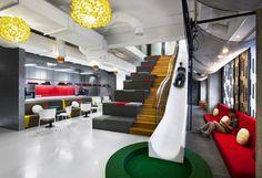 My kind of office space. Ogilvy & Mather Jarta by M Moser Associates HLB