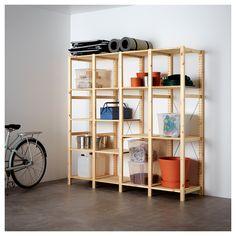 Epic CASE u Hochwertige modulare B cherwand f r Wohnzimmer Office oder Laden mit unterschiedlichen Regalfachh hen Regalsysteme Pinterest