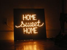 """Home Sweet Home Lamp by Kyle Read, via Behance   [My children might one day ask me if I knew the great Kyle Read, and I will say, """"Yes, BEFORE he was on Pintrest!""""]"""