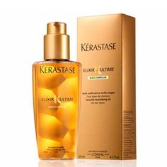 Kerastase Elixir, fantastic product to use before a blow out, and after for smoothing. Smells amazing, protects, enriches, and shines.