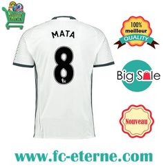 Site Maillot Manchester United (MATA 8) 2016-2017 Third |fc-eterne