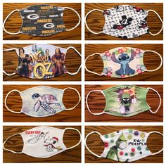 Choose one of these designs or design your own! All my masks are $8.50 USD with free shipping to the US each mask is machine washable and includes 2 PM 2.5 filters, ear adjustment clips and a nose bar. Please note these masks are NOT medical grade but conform to the CDC's cloth face covering guidelines.