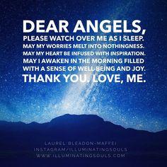 Spiritual Wisdom, Spiritual Awakening, Archangel Prayers, Angel Quotes, Bible Quotes, Angel Guide, Evening Prayer, Novena Prayers, Your Guardian Angel